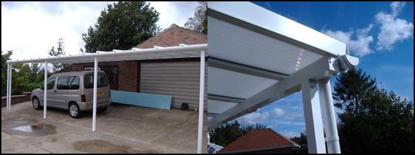Car port constructed in Norfolk